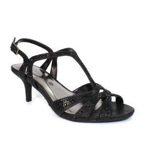 Lunar Francie Black Sandal